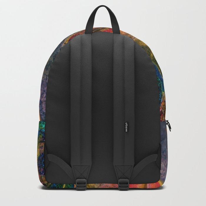 crystal marble Backpack
