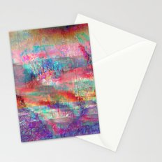 23-18-45 (Acid Rain Bed Glitch) Stationery Cards