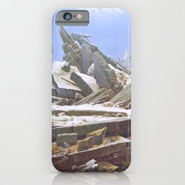 The Sea of Ice - Caspar David Friedrich iPhone Case