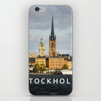 stockholm iPhone & iPod Skins featuring STOCKHOLM by Sara Ahlgren