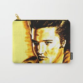 Elvis Gold Carry-All Pouch