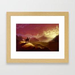 Hyrule Framed Art Print