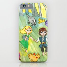 Hansel and Gretel Escape iPhone Case