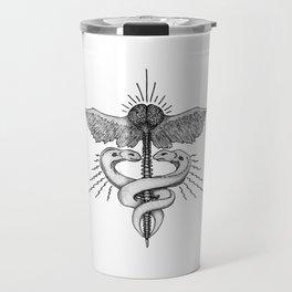 Neuroelectric Caduceus Travel Mug