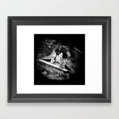 Midnight in Dubrovnik 02 Framed Art Print