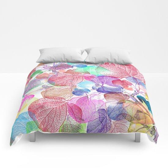 Leaf mosaic(28) Comforters