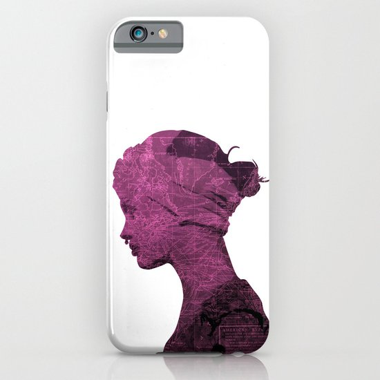 WORLD IS MY TEXTURE iPhone & iPod Case