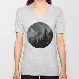 North Cascade Winter Blizzard Unisex V-Neck