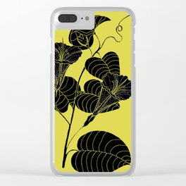 Bush Potato (Also known as Desert Yam) - Ipomoea costata Clear iPhone Case