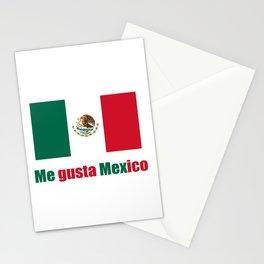 Flag of mexico 5- mexico,mexico city,mexicano,mexicana,latine,peso,spain,Guadalajara,Monterrey Stationery Cards