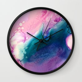 Abstract organic composition Wall Clock