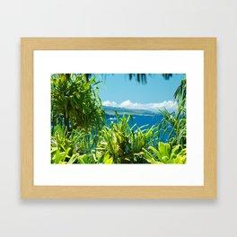 Kahanu Garden Framed Art Print