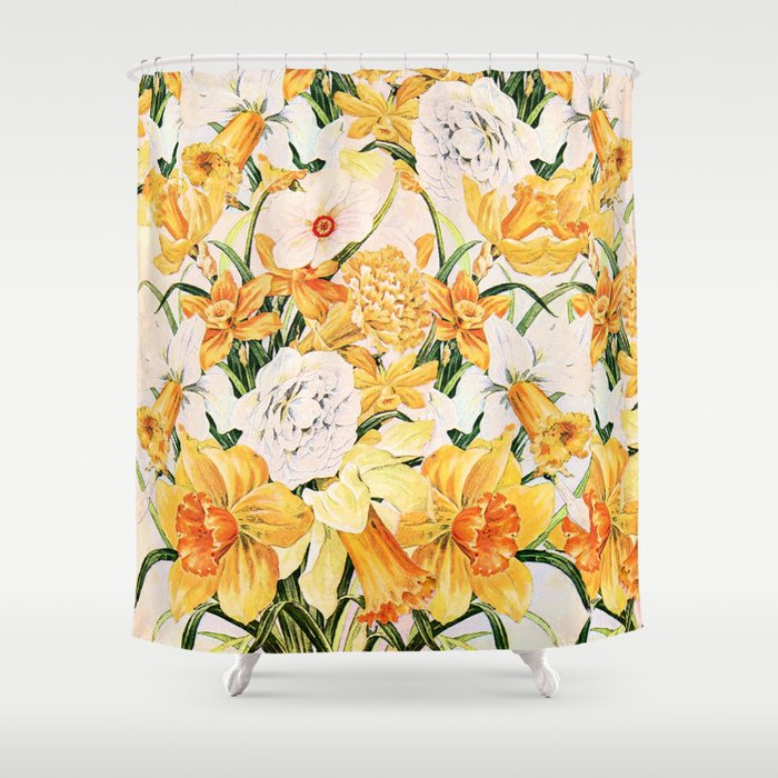 Wordsworth  and the daffodils. Shower Curtain