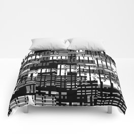 Game boy glitch_01 Comforters
