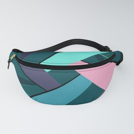Abstract Geometric Shape 6 Fanny Pack
