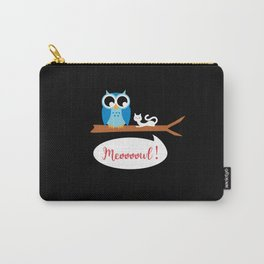 Meoooowl Carry-All Pouch