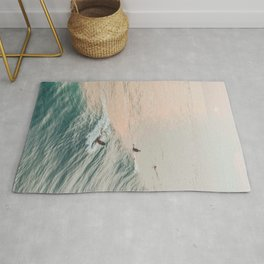 summer waves iv Rug