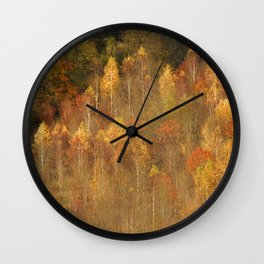 Trees On Box Hill Surrey Wall Clock