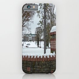 The Baptist Home iPhone Case