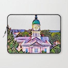 Athens, Georgia Skyline Laptop Sleeve