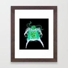 bruno inverted Framed Art Print
