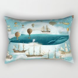Ocean Meets Sky - option Rectangular Pillow