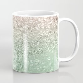 Blush Glitter Dream #3 #shiny #decor #art #society6 Coffee Mug