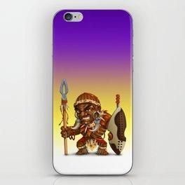 Warrior African iPhone Skin