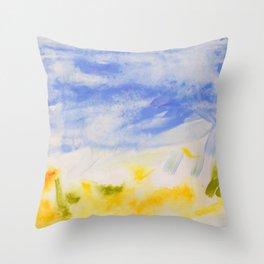 Summer Siesta Throw Pillow