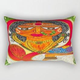 East Indian Bengali Bride Rectangular Pillow
