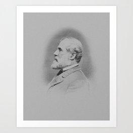 General Robert E. Lee Art Print