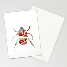 Painted Beetles Stationery Cards