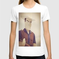 cowboy T-shirts featuring Cowboy by Natasha N. Walker
