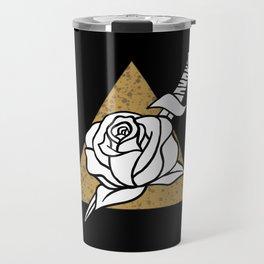 Roses and Daggers Travel Mug