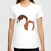 dana scully T-shirts featuring Mulder and Scully, X-Files by Mars