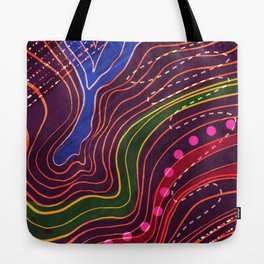 Lay of the Land Tote Bag