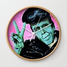 Munster Go Home! Wall Clock