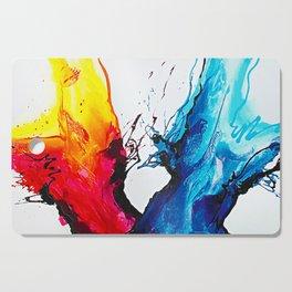 Abstract Art Britto - QB292 Art Print Cutting Board