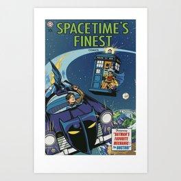 Spacetime's Finest No. 1 Art Print