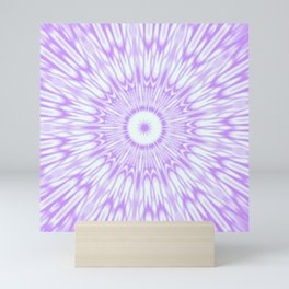 Lavender. Kaleidoscope Mini Art Print