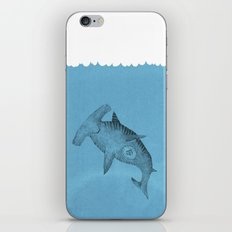 hammer shark iPhone & iPod Skin