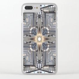Structure of Stairs Clear iPhone Case
