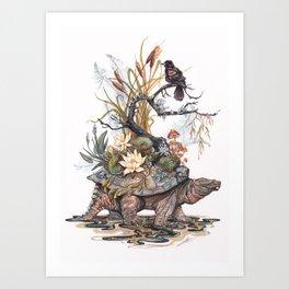 Goddess of the Swamp Art Print