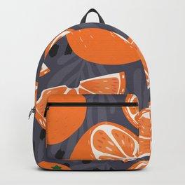 Orange pattern 02 Backpack