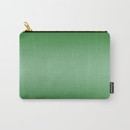Green to Pastel Green Horizontal Bilinear Gradient Carry-All Pouch