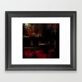 Crazy Heart Framed Art Print