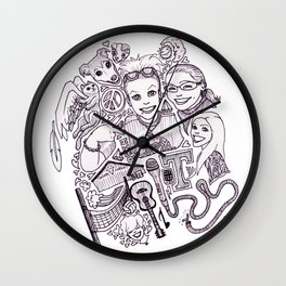Camille (Wonderful Mess Series) Wall Clock