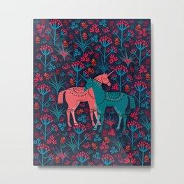 Unicorn Land Metal Print