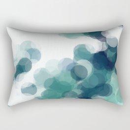 Green Bubbles #Society6 #Art #1 Rectangular Pillow