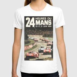 Le Mans poster, 1964, 24hs Le Mans, original vintage poster T-shirt